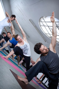 Yoga for beginners class, York